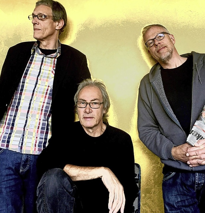 Peter Wolbrandt, Jan Fride, Hellmut Hattler (von links) sind Kraan.  | Foto: Jay Haen/Baseball Recordings