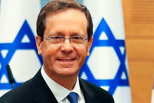 Auf Israels neuem Präsidenten ruhen viele Hoffnungen