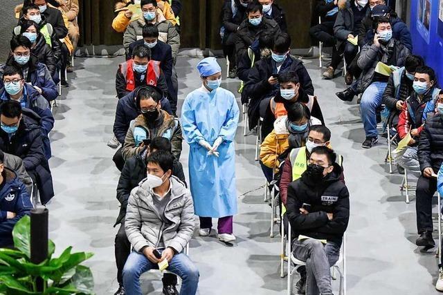 China treibt Corona-Impfungen mit großen Schritten voran