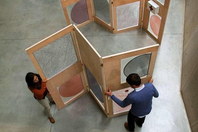 Kunst-Installation im Freiburger Südwesten soll Gemeindemitglieder in Kontakt bringen
