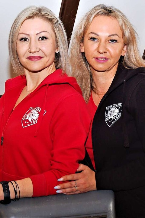 Elena Asmus (links) und Helena Hess    Foto: Wolfgang Beck