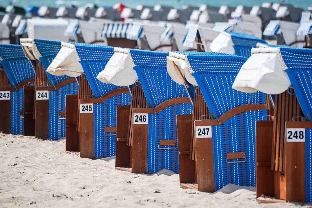 Urlaub in Warnemünde? Geht wieder.  | Foto: Stefan Sauer (dpa)