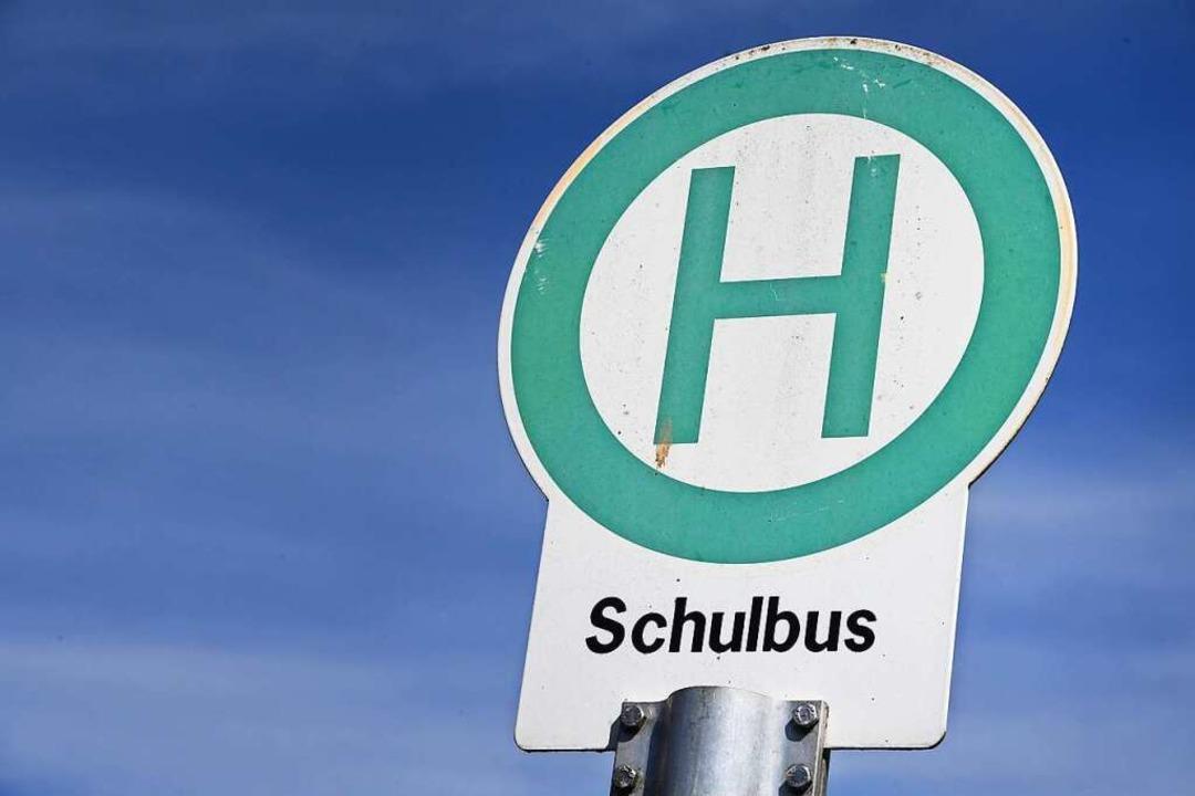 In den Schulbussen soll es weiterhin n...aher gibt es Geld für Verstärkerbusse.    Foto: Stefan Sauer (dpa)
