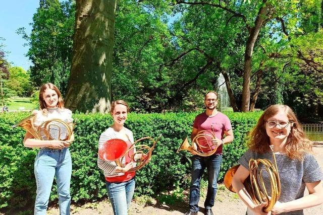 Hörner erklingen am Sonntag im Lahrer Stadtpark