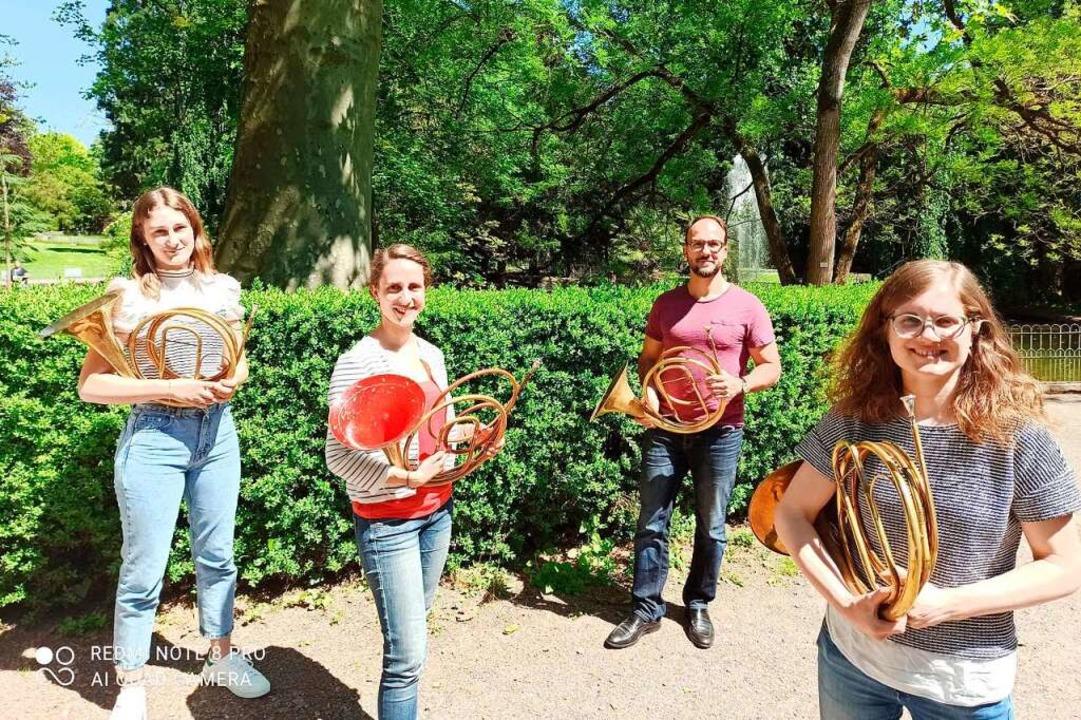 Apollonia Maier, Elsa Böhme, Stefan Be...ren am kommenden Sonntag im Stadtpark.  | Foto: Stadt Lahr