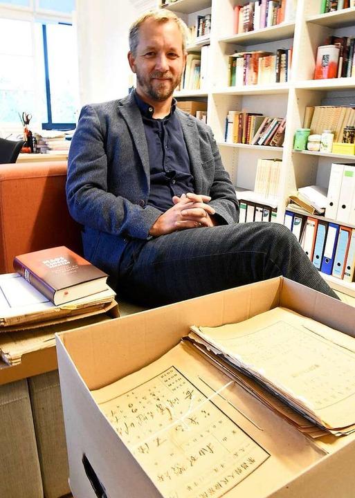Der in Teningen lebende Autor Daniel L...den deutschen Sachbuchpreis nominiert.  | Foto: Markus Zimmermann