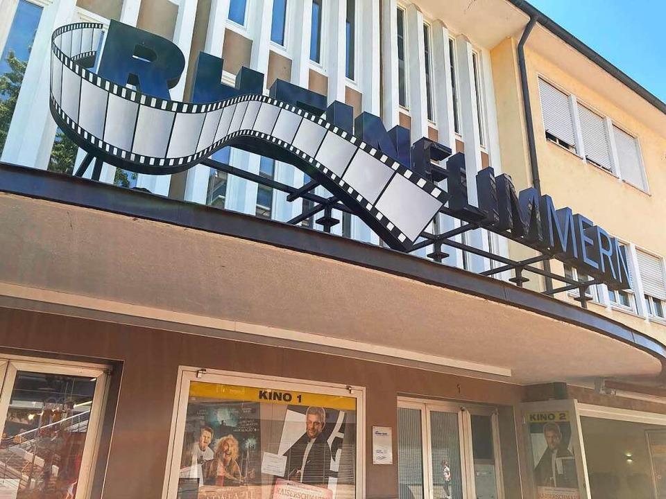 Der Betreiber des Rheinfelder Kinos Rh...ffnung auch das Publikum wieder kommt.    Foto: Dora Schöls