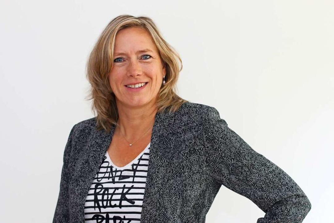 Maria Bieber ist Leiterin des Netzwerk...lbüro in Freiburg/südlicher Oberrhein.    Foto: Gericke Design, Annette Gericke