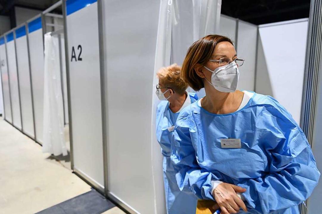 Auch in den Impfzentren wird ab dem ko... Priorisierung vollständig aufgehoben.  | Foto: Robert Michael