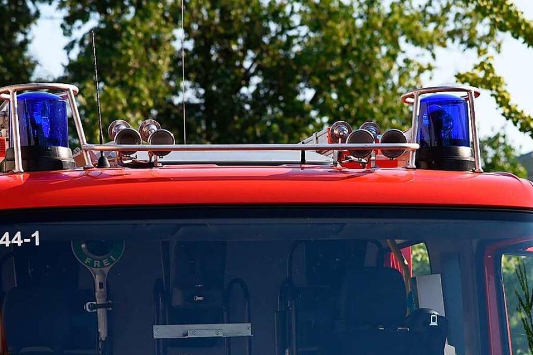 13 Feuerwehrfahrzeuge rückten aus (Symbolbild).  | Foto: Jonas Hirt
