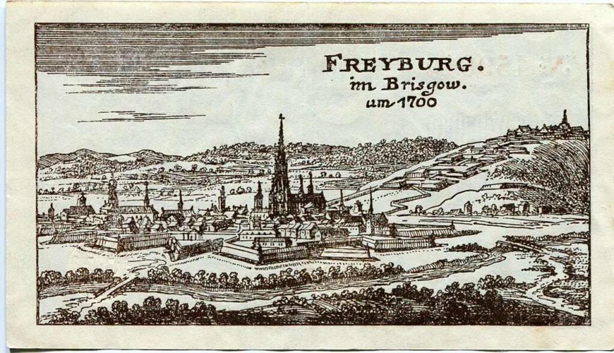 Ein weiteres der Freiburg-Motive    Foto: Dr. Dirk Schindelbeck