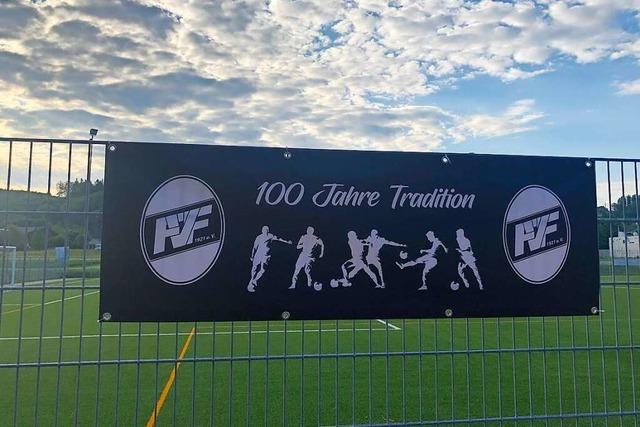 Ein Jahrhundert für den Fußball – der FV Fahrnau wird 100 Jahre alt