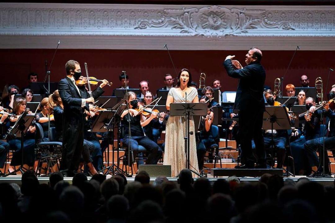 Das Basler Sinfonieorchester – hier bei einem Auftritt im August 2020  | Foto: Benno Hunziker