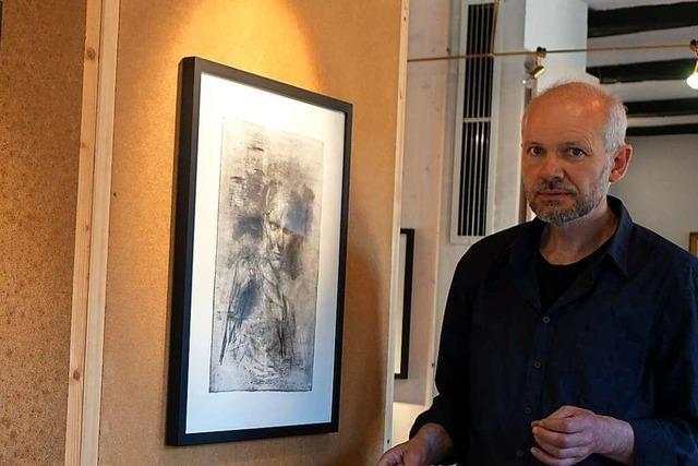Künstler Johannes Beyerle gibt Einblicke in sein aktuelles Schaffen