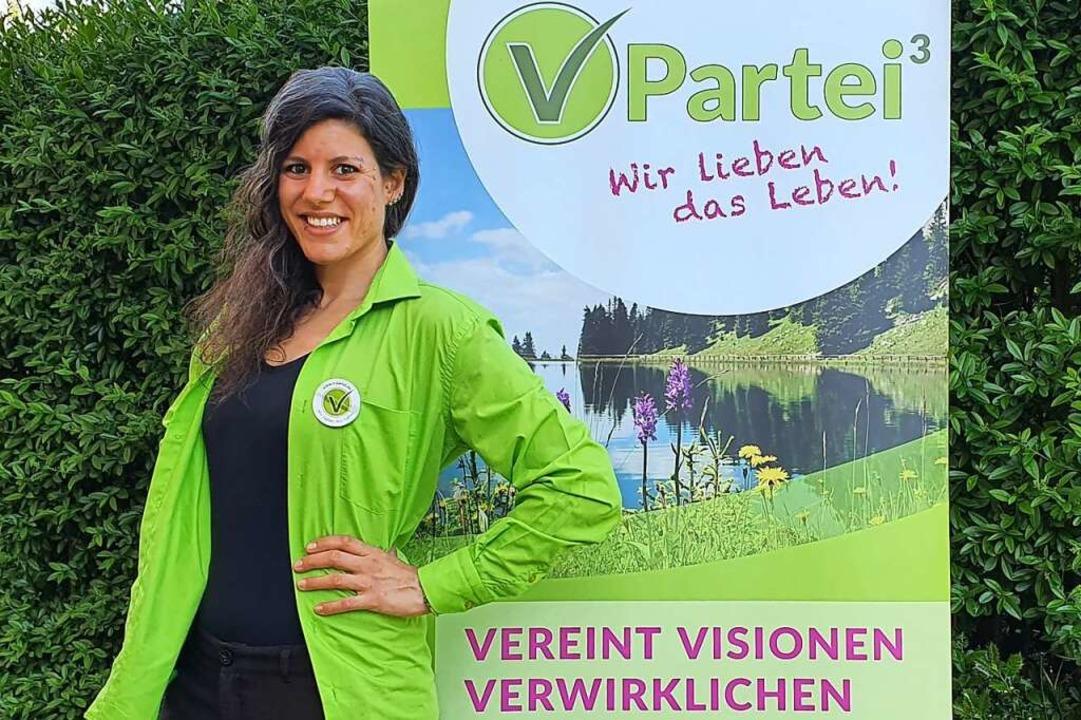 Viola Stocker, Kandidatin für die Bundestagswahl im Wahlkreis Lörrach-Müllheim  | Foto: Daniela Hohler/V-Partei
