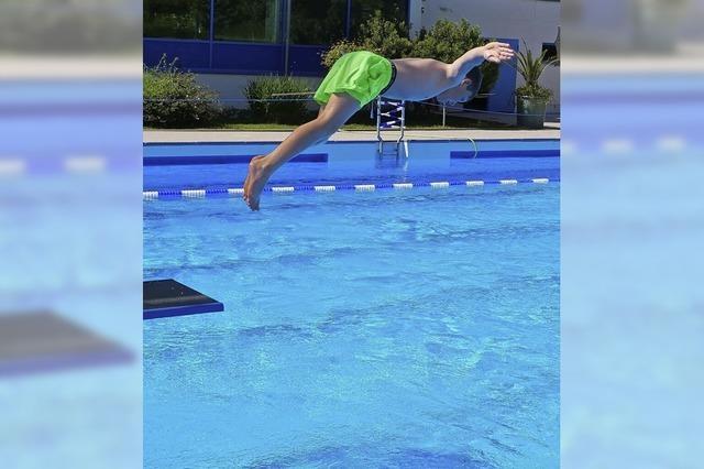 Schwimmen nur mit Abstrich