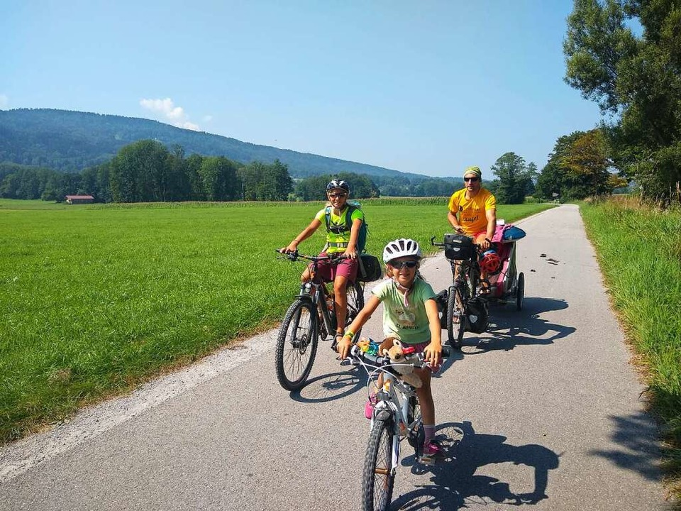 Familie Schlosser auf Tour  | Foto: Bianca Ostermann
