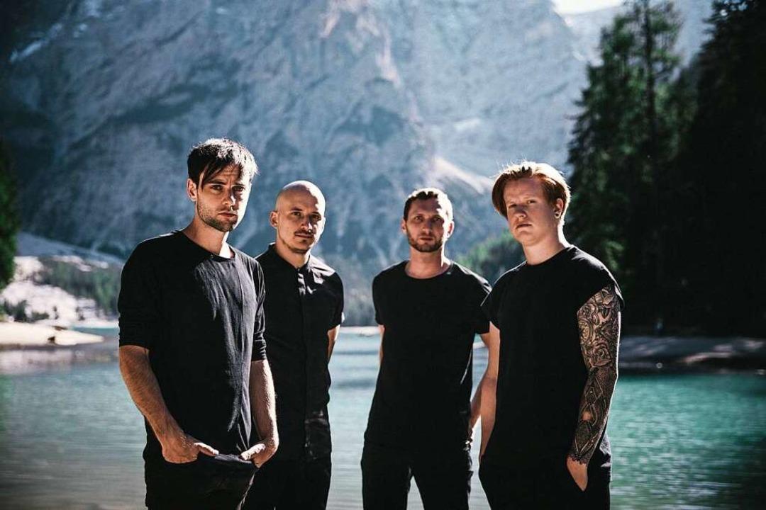 Von Welt. Von links: Nicolas Kuri, Ste...ngler, Patrick Moser und Nicolai Hoch.  | Foto: Moritz Schreder
