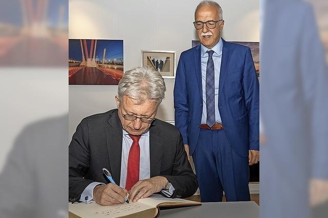 Der deutsche Botschafter in Paris zu Besuch in Kehl