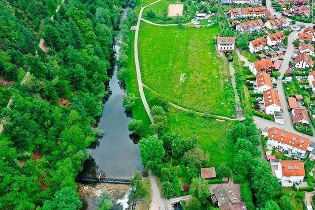 In Schopfheim ist auf einer Grünfläche eine Bebauung mit 130 Wohnungen geplant