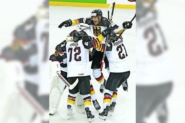 Freudentränen im Eishockey