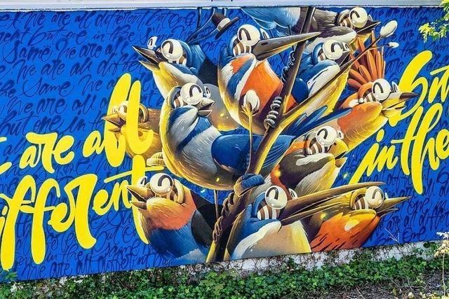 Straßburg lädt zu Street-Art-Rundgängen ein