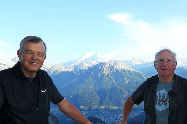 Wie Corona zwei Alpenwanderer aus Weil am Rhein ausgebremst hat