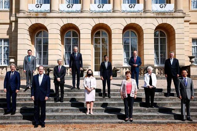 G7-Finanzminister wollen weltweite Digitalsteuer für Großkonzerne