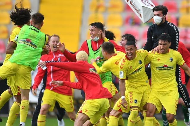 Zweiter Matchball verwertet: SC Freiburg II steigt in die 3. Liga auf