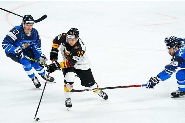 Unglückliche Halbfinal-Pleite: Eishockey-Team unterliegt Finnland