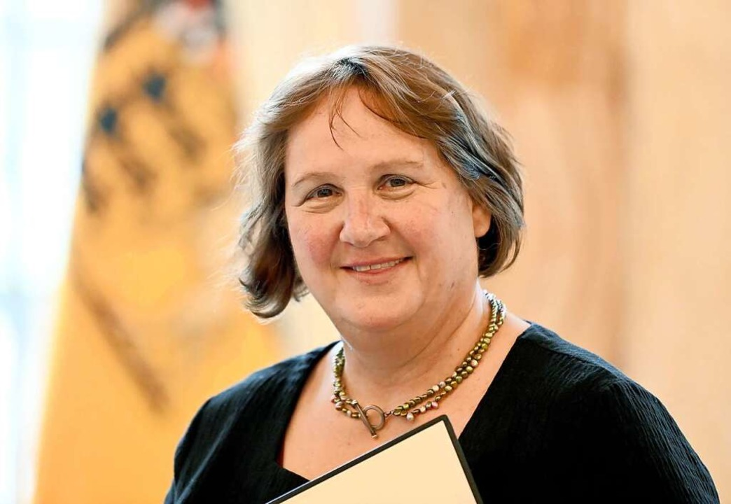 Die neue Kultusministerin Theresa Schopper    Foto: Bernd Weissbrod (dpa)