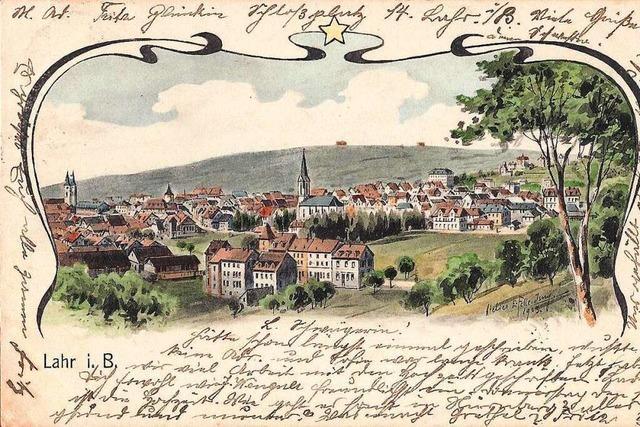 Alte Ansichtskarten vom Lahrer Schutterlindenberg