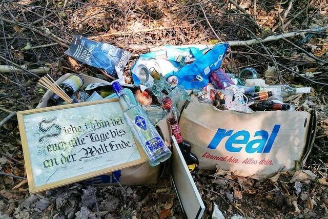 Lahrer SPD-Ratsfraktion will mit einem Runden Tisch das Thema Müll angehen