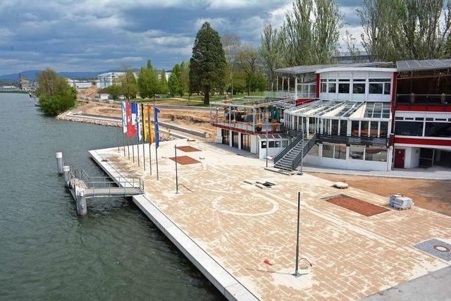 Teile des Rheinparks in Weil am Rhein können bald genutzt werden