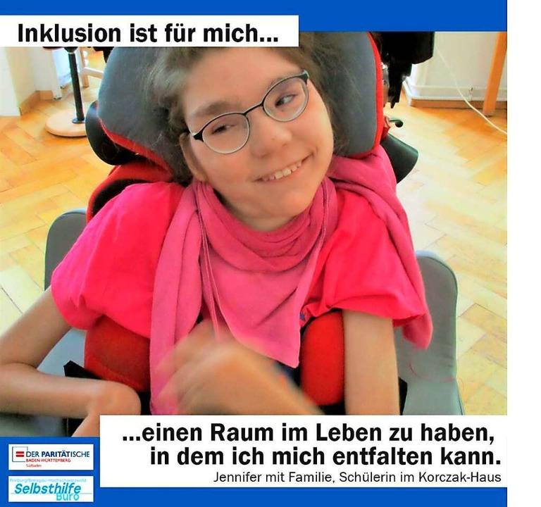 Jennifer aus Emmendingen ist Teil eine...des Paritätischen Wohlfahrtsverbandes.    Foto: Privat