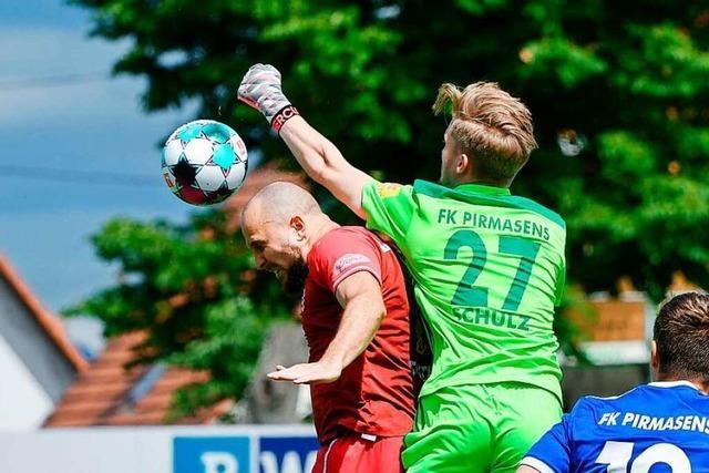0:2: Der Bahlinger SC verliert letztes Heimspiel der Saison gegen den FK 03 Pirmasens