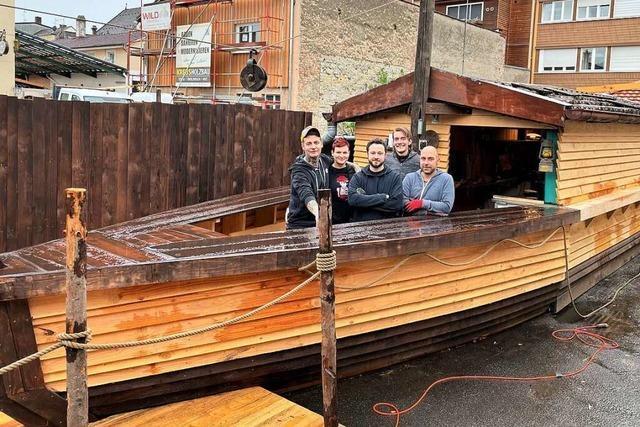 Der neue Lörracher Biergarten Daddeldu öffnet am Samstag