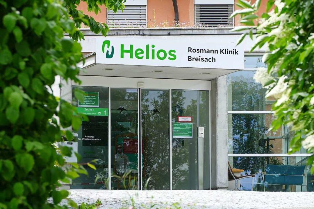 In der Helios Rosmann Klinik Breisach gibt es personelle Änderungen.  | Foto: Sattelberger