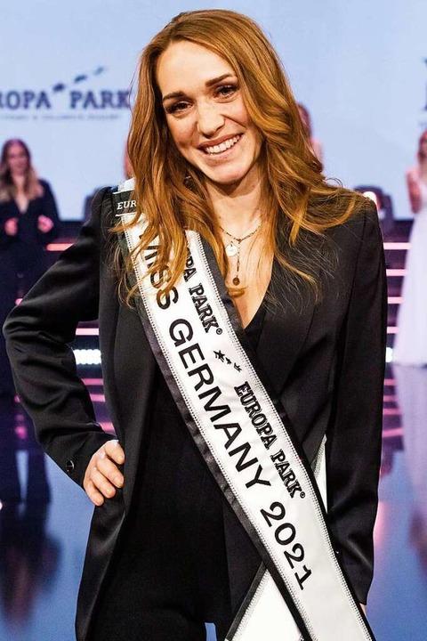 Anja Kallenbach ist die aktuelle  Miss Germany.  | Foto: Philipp von Ditfurth (dpa)