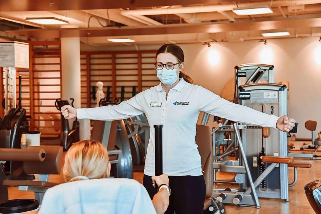 Für starke Muskeln und eine schöne, st... Schnock gibt Tipps beim Krafttraining    Foto: PU-Gruppe
