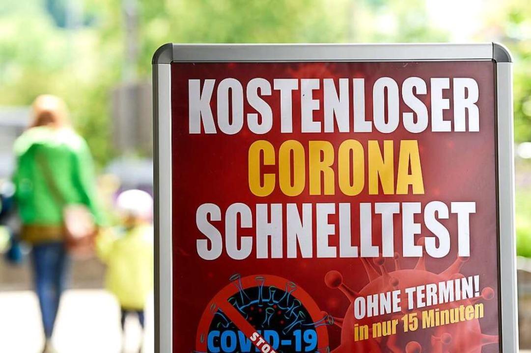 103 Schnelltestzentren gibt es mittlerweile in Freiburg.    Foto: Thomas Kunz