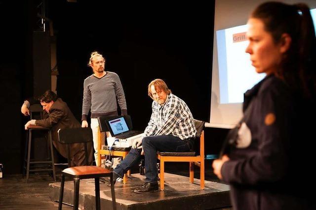 Grill-Konflikt: Das Freiburger Wallgraben-Theater spielt die satirische Komödie