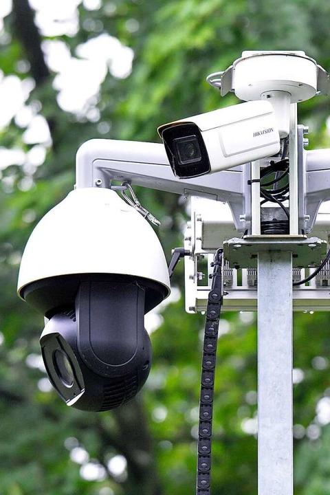 Die Überwachungstechnik in Detail  | Foto: Michael Bamberger