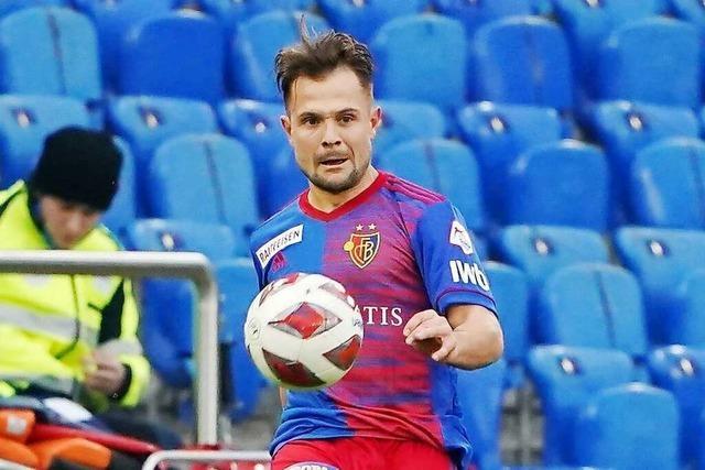 Amir Abrashi steht beim FC Basel wohl vor dem Aus