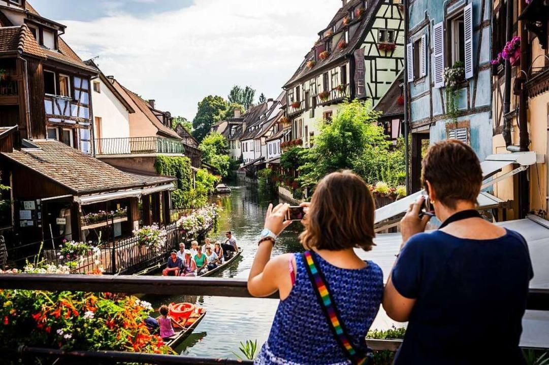 Touristen in Colmar  | Foto: Bruno Almela via www.imago-image