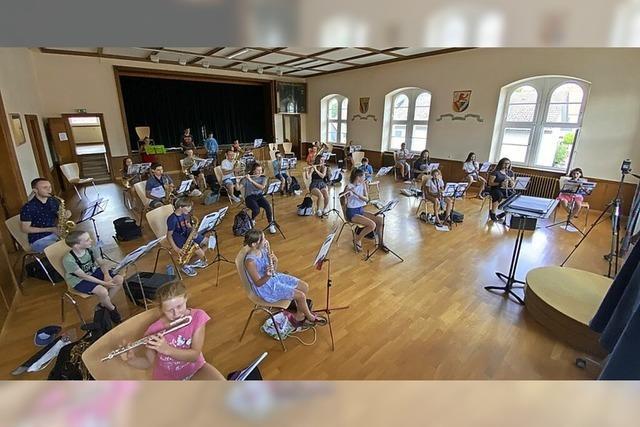 Egringer Musiker beginnen mit Proben