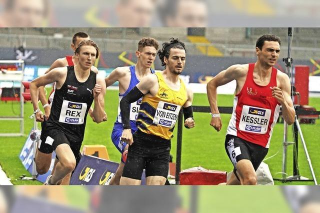 Christoph Kessler imponiert über 800 Meter