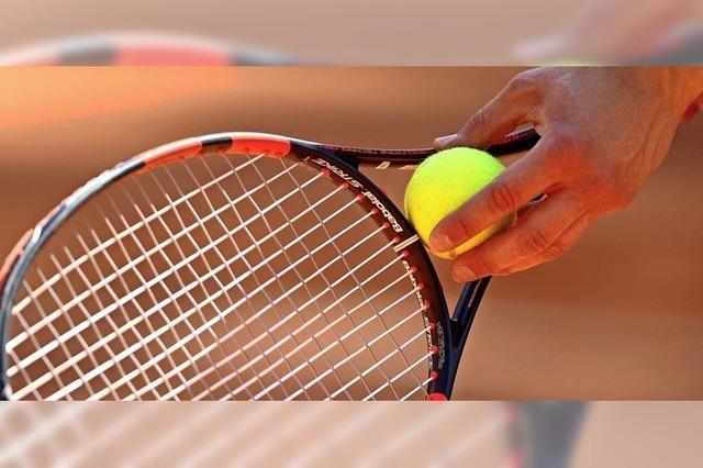 Tennissaison kann bereits ab Freitag starten