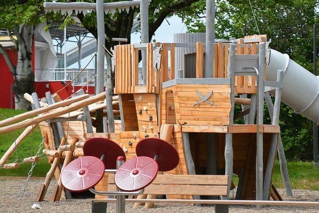 Am 19. Juni soll der neu gestaltete Friedlinger Rheinpark eröffnet werden
