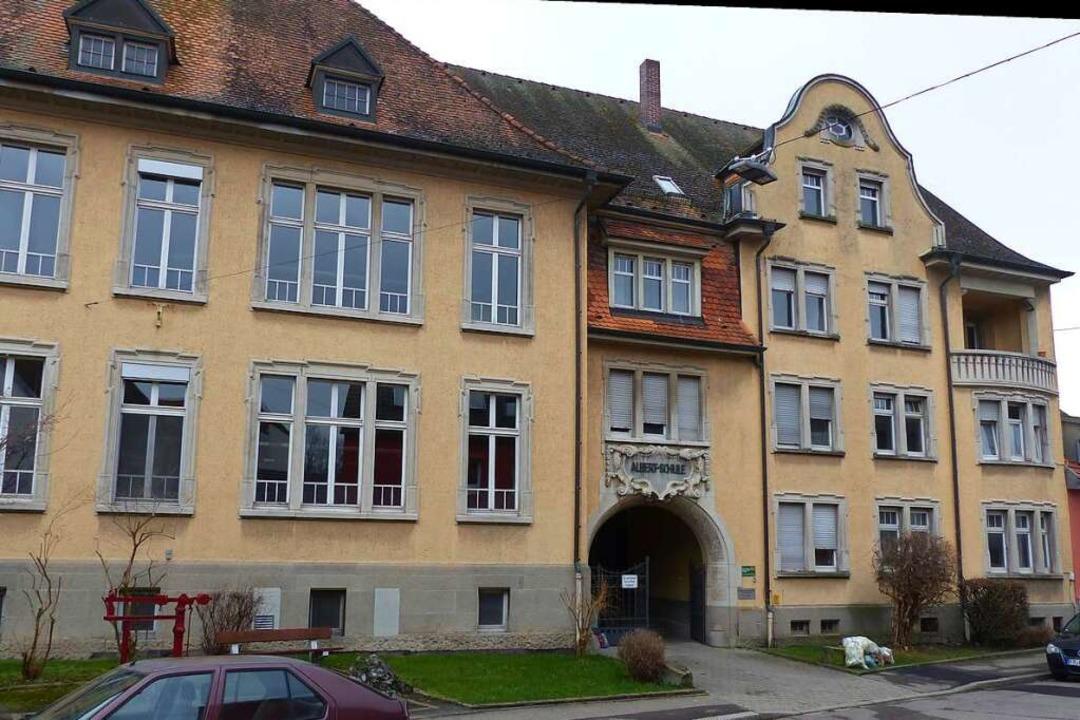 Energieschleuder: Die Albert-Schule ve...l Strom und Gas wie die Mambergschule.  | Foto: Sattelberger